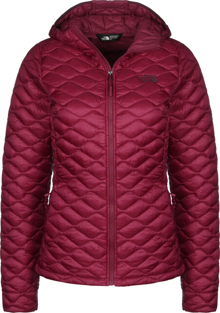 The North Face Thermoball Pro Capuchon Jas Dames, rumba red